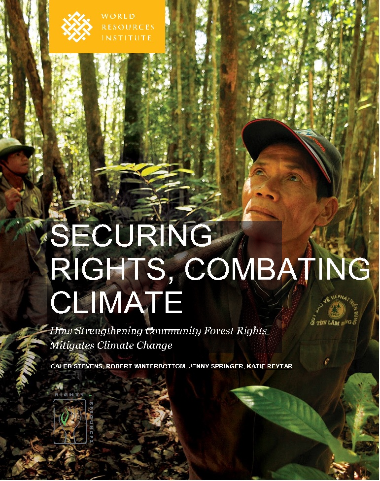 forest rights & climate change