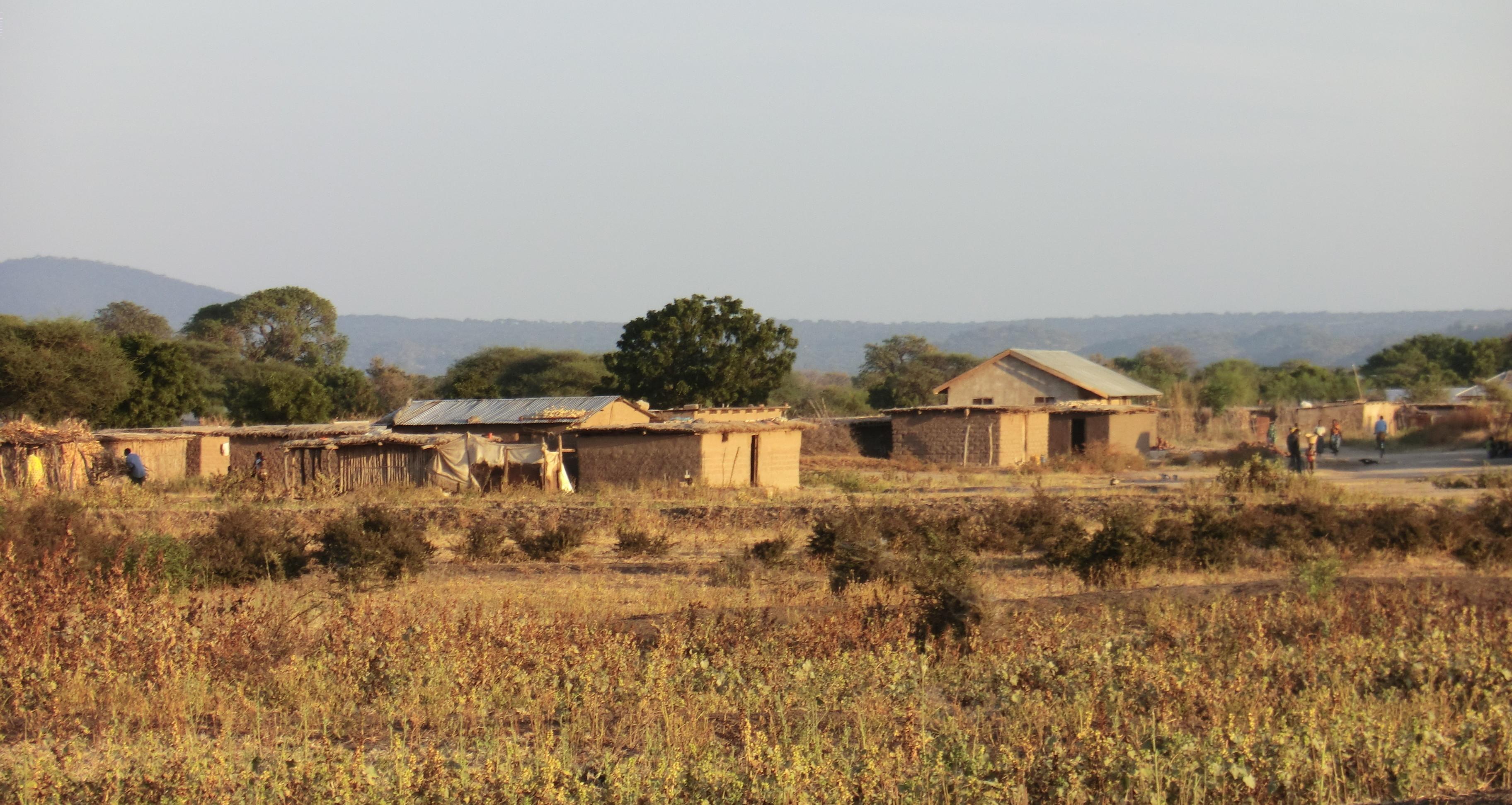 Image result for barren rwandan village